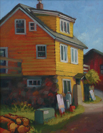 North House Alley – 14x11