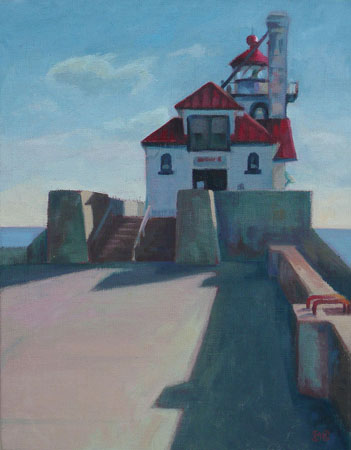 South Breakwater Outer Light - 14x11
