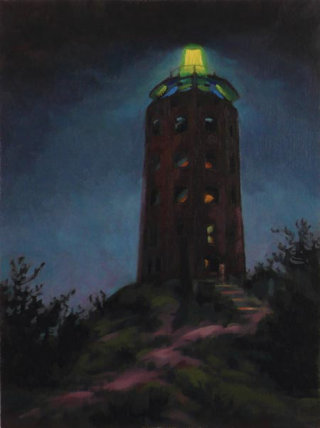 Twilight Enger Tower - 16x12
